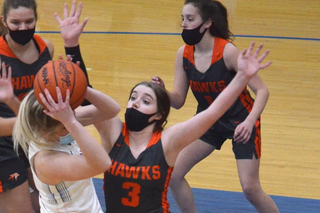 The Saugatuck girls basketball team faced Fennville on Wednesday, Feb. 17, at Saugatuck.