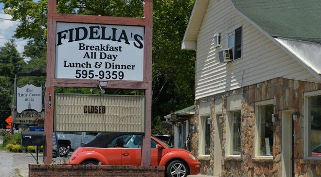 The former Fidelia's restaurant in Horse Shoe is being renovated to house a new eatery.