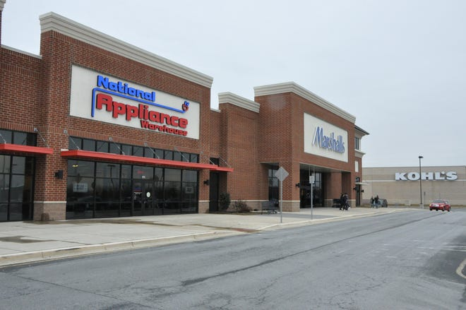 The Middletown National Appliance Warehouse is located at 675 Middletown Warwick Road in the former Dress Barn location, next to Marshalls.