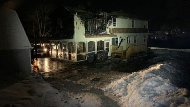 Framingham police Sgt. Paul Patriarca and his family lost their Grafton home in a house fire on Wednesday.