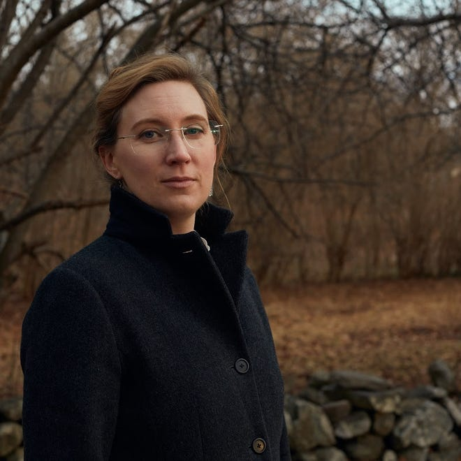 """Seacoast author Jacqueline Benson will publish her next book, """"The Shadow of Water"""" in April."""