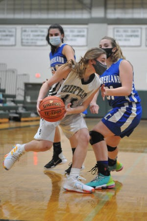 Ponaganset freshman Jaina Yekelchik was on fire Wednesday night, hitting 8 of 14 from the field and 4 of 7 on 3-pointers, scoring a career-high 22 points in the Chieftains' win over Cumberland.