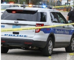 A 29-year-old Massachusetts man died at Rhode Island Hospital early Saturday after being found with a gunshot wound in a car stopped on George Bennett Industrial Highway, according to the police.