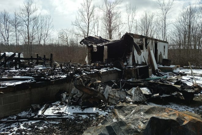 Deerfield resident Jessica Movsesian and her 2-year-old daughter Alexandria lost just about everything when a fire destroyed their Notman Road home on Feb. 9.
