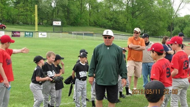 David Bianchi, longtime president and supporter of the Holly Hills Baseball League, died this week at age 67. Submitted photo