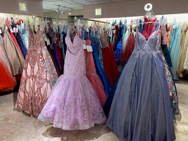 Linde's Bridal and Prom in Massillon already selling gowns as local schools find creative ways to make Prom 2021 a reality.