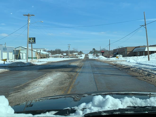 The main roads in Pottawatomie County are better and while the side roads are still slick they continue to improve as the winter weather goes away.