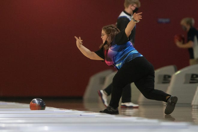 Seaman's Katie Price posted two games of 226 or better to start Wednesday's Centennial League meet and then did just enough in her final game to hold off Washburn Rural's Hannah Casto for top honors with Emporia still to bowl on Friday after having to miss Wednesday's meet. Price finished with a 658 to beat Casto by just eight pins.