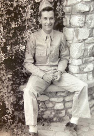Judge Robert Mulkern, in uniform.