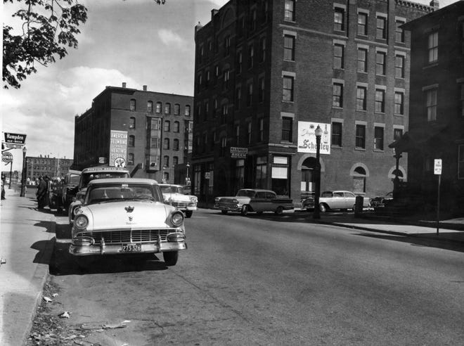 The Summer Street landscape has changed over the years.