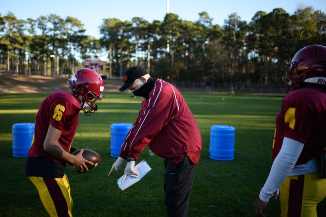 Douglas Byrd is fighting a low participation rate for football as the effects of the COVID-19 pandemic continue to impact high school sports.