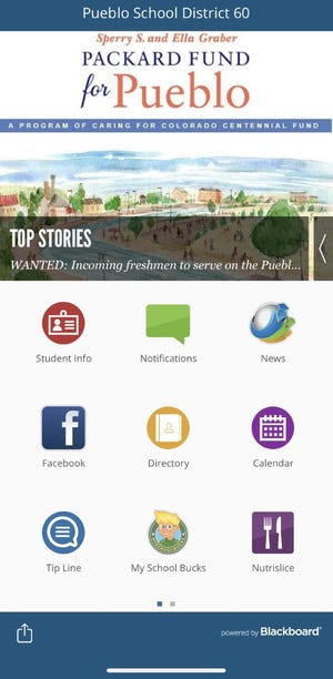 Pueblo School District 60 launched a new app this week to help parents, teachers and students access information at the touch of a button.