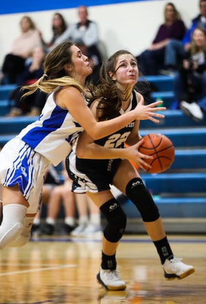 Grandview Heights senior guard Hannah Yochem surpassed 1,000 career points in a loss to Columbus Academy on Feb. 16.