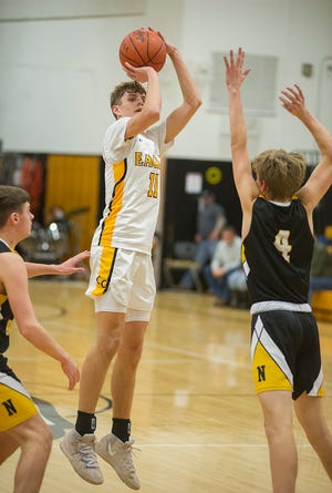 Carter Valentine earned All-Ohio honors after averaging 18.1 points per game on the No. 2 team in the state.
