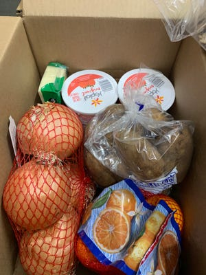 The Coastal Bend Food Bank will be distributing food Friday, Feb. 18, 2021 to families in need due to the aftermath of the winter storm that hit the area. Items will include yogurt, cheese and produce.