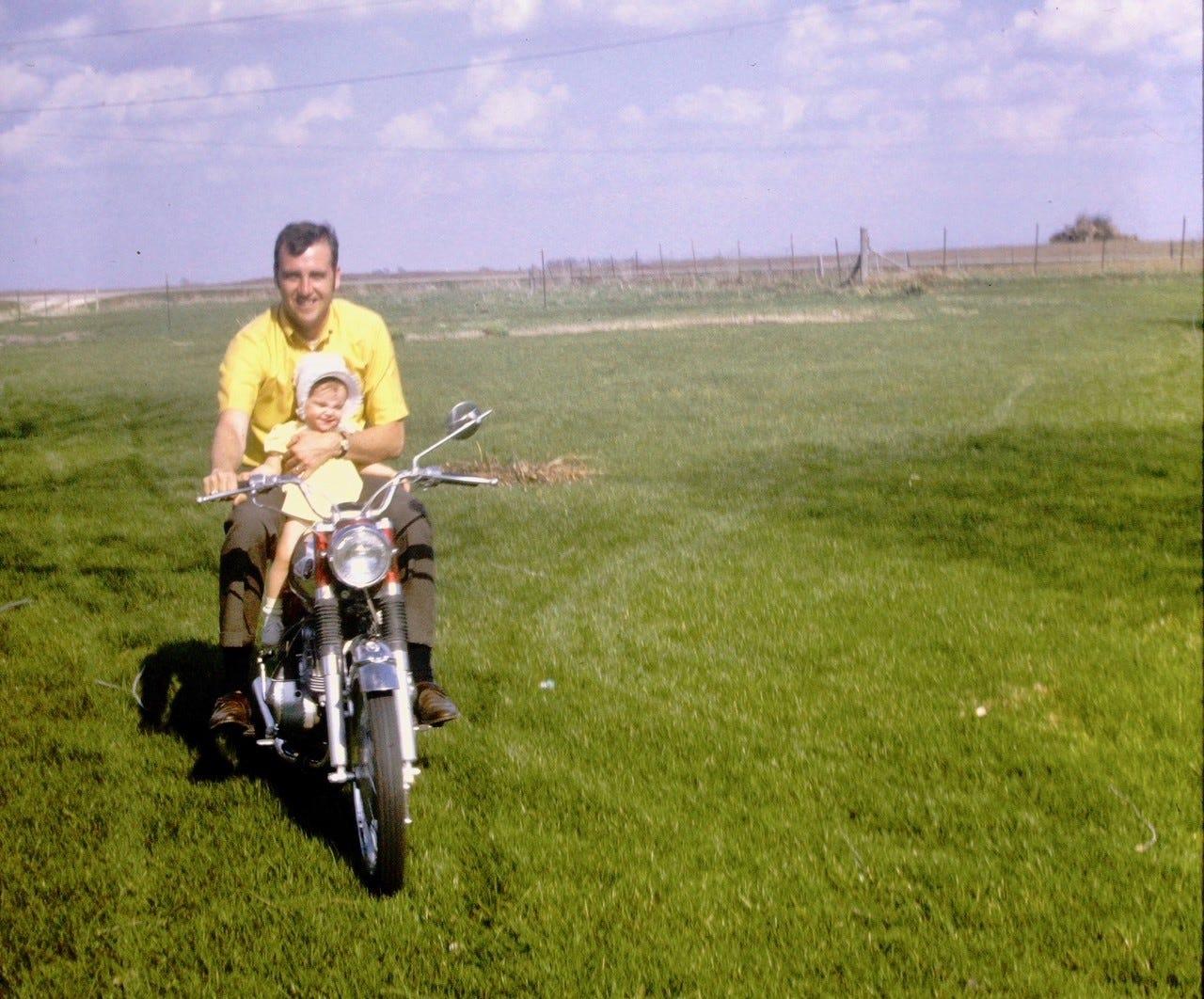Lou Luiken and his eldest daughter, Jennifer.