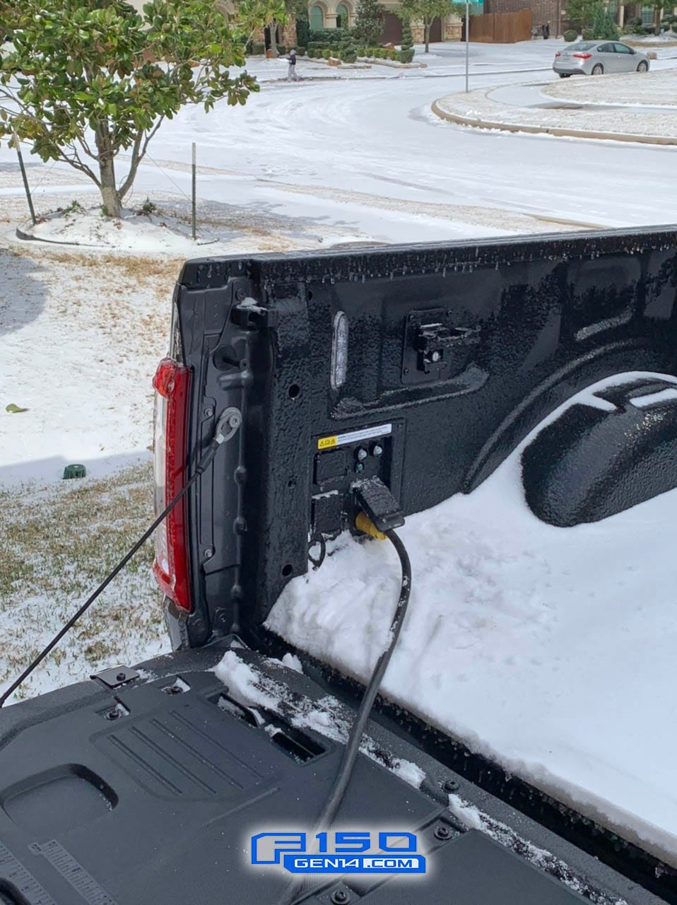 This man used his 2021 Ford F-150 to heat his house during Texas winter storm blackout