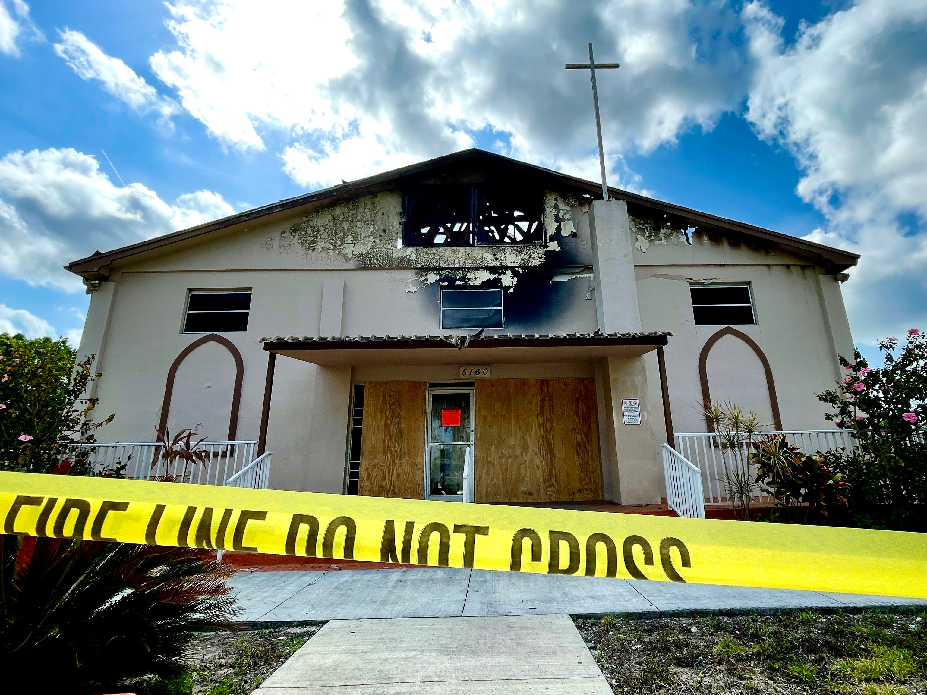 'When crisis happens, the denominational barriers disappear,' pastor says after fire destroys Fort Myers church 3