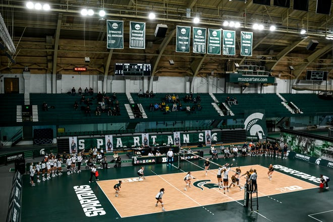 MSU volleyball's next home matches are Oct. 8 and 9.