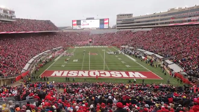 Wisconsin is planning to fill Camp Randall for the 2021 season after the football team played in a virtually empty stadium in 2020.