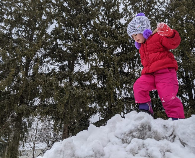 Columnist Abbey Roy lauds this winter's weather for giving kids and kids at heart a reason to get outside and enjoy the snow.