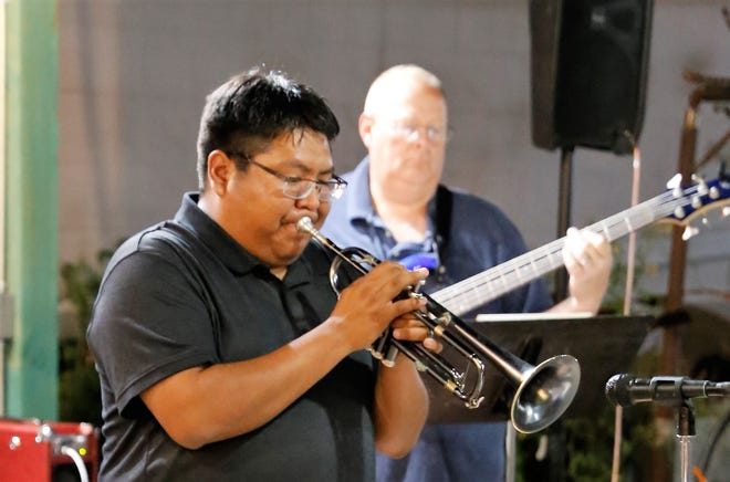 Farmington's Delbert Anderson has earned a $30,000 grant to stage a series of free virtual concerts in locations around the region.