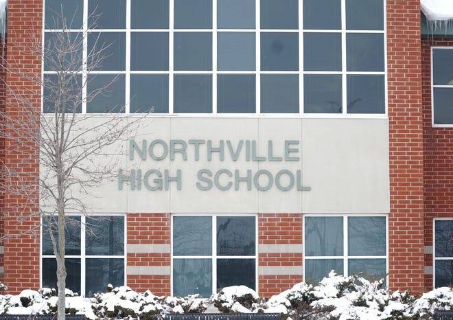 Northville High School on Six Mile Road.