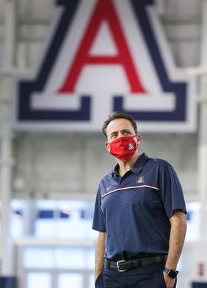 First-year Arizona Wildcats coach Jedd Fisch has decided to split up his team at times during training camp to give players more focused reps when they are on the field.