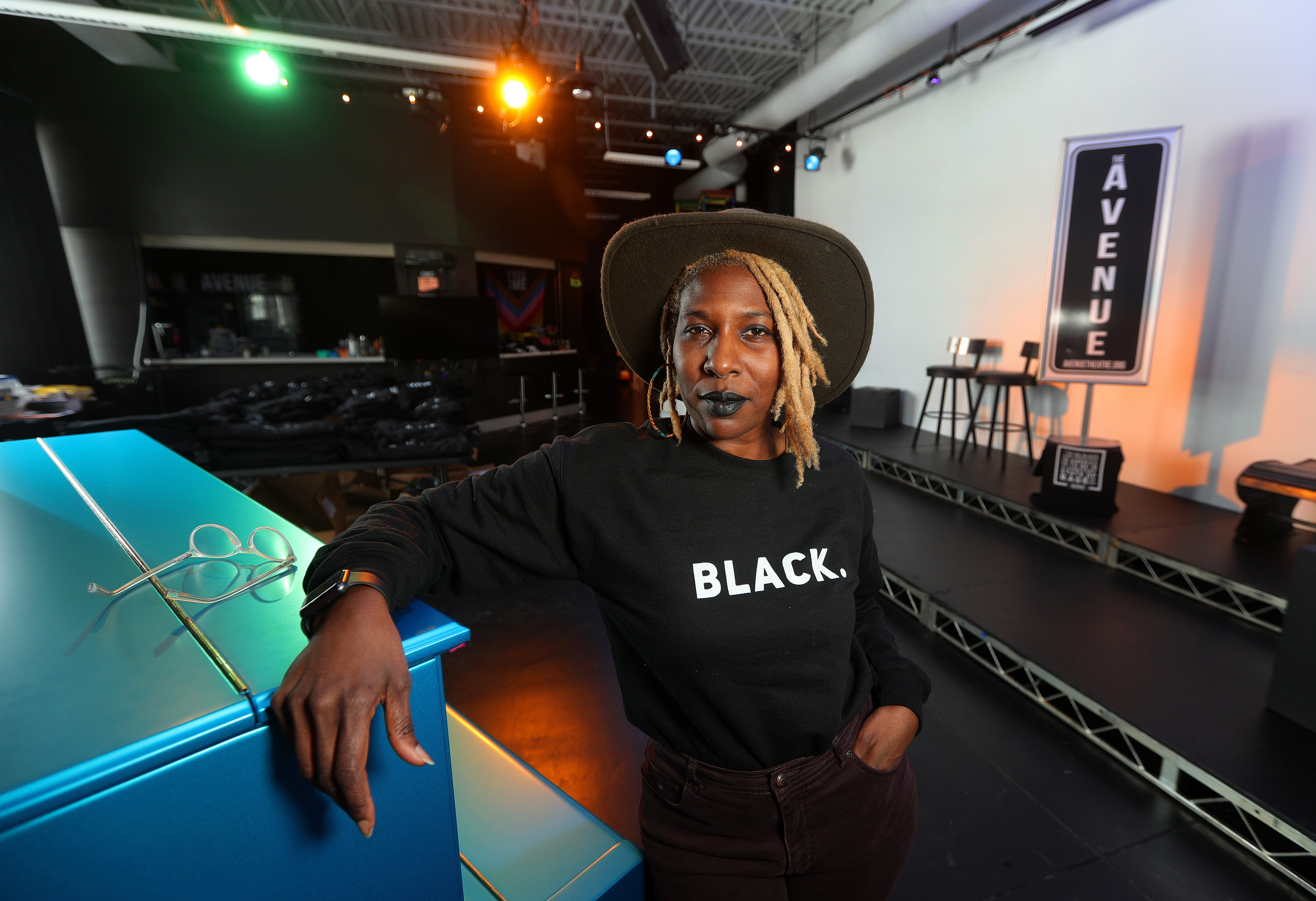 Reenah Golden is the founder of Avenue Black Box Theatre on Joseph Avenue in Rochester, New York. The inclusive community theater leans into social justice and various artistic narratives.