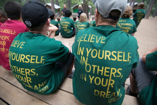At Camp Hope America, youth are taught pathways to hope and confidence in self and others.