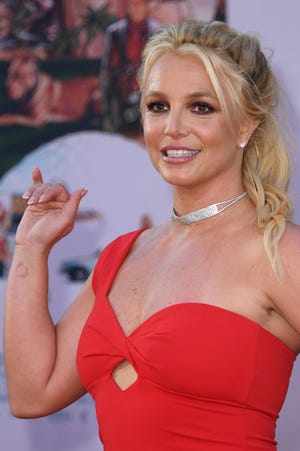 Britney Spears le 22 juillet 2019 à Hollywood.