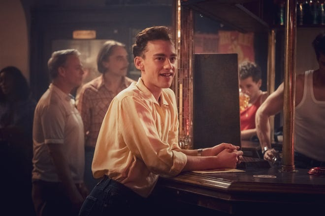 "Olly Alexander as Ritchie Tozer in ""It's A Sin."""