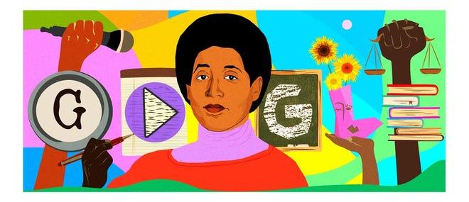 Audre Lorde Google Doodle
