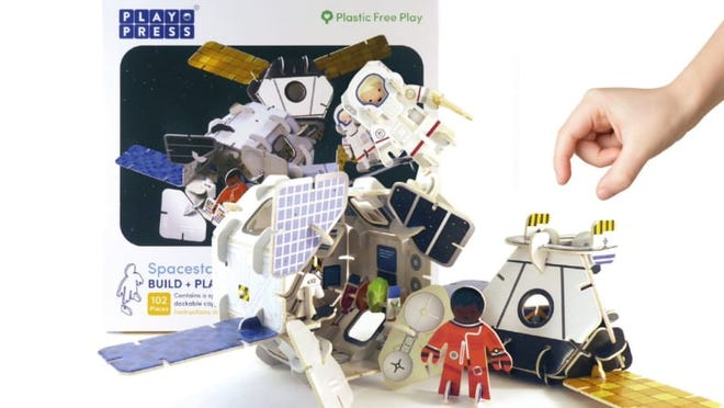 An earth-conscious toy for kids that like outer space.