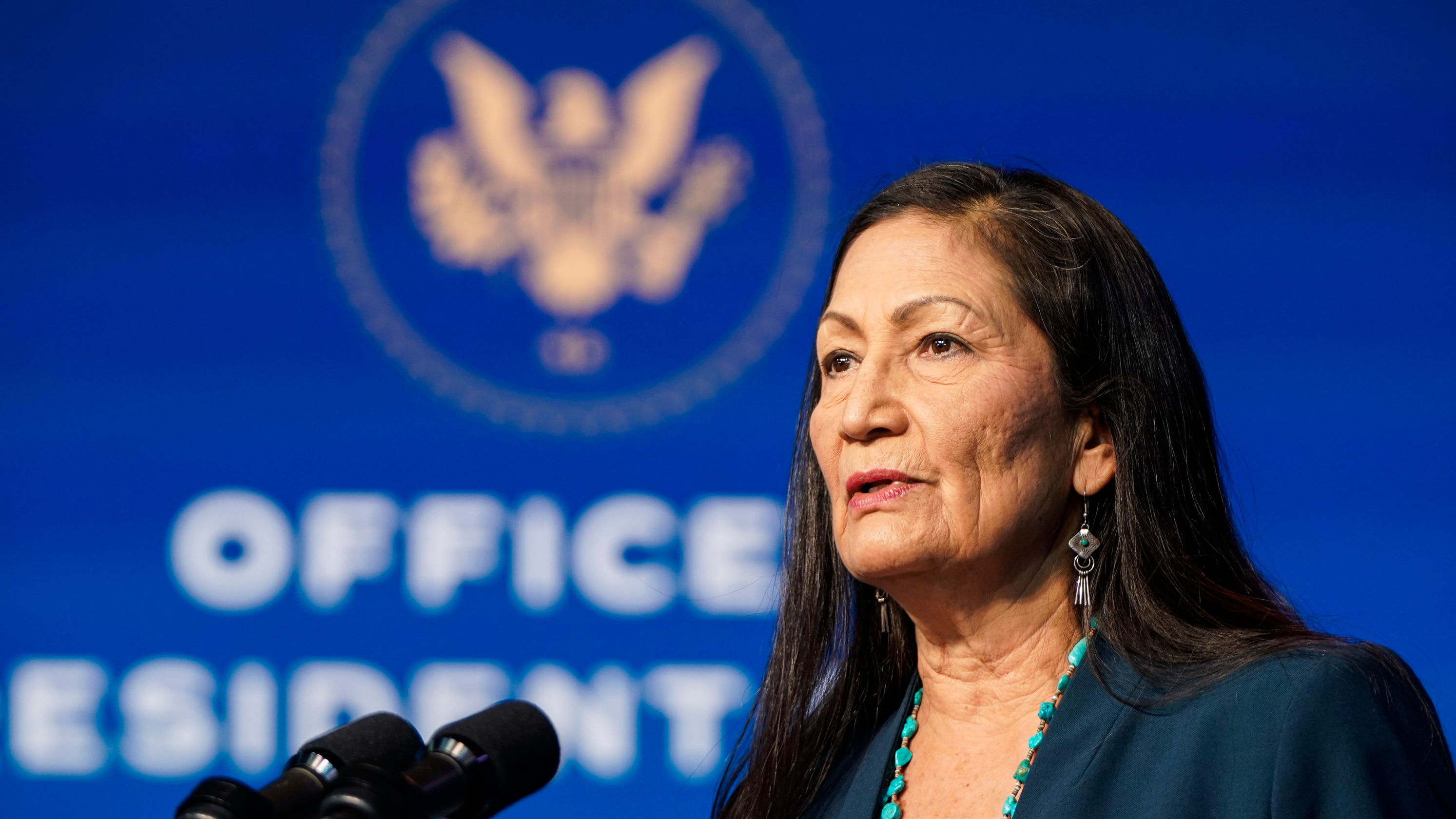 Sen. Mark Kelly joins Arizona tribes in support of Deb Haaland's Interior secretary confirmation