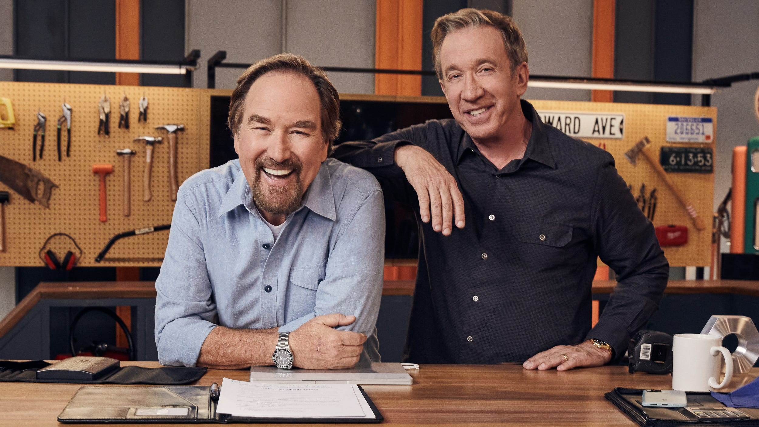 'Exactly like we were in 'Tool Time': 'Home Improvement' stars Tim Allen, Richard Karn launch History Channel DIY contest - USA TODAY