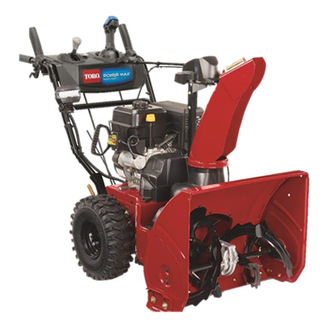 Toro is recalling its model year 2021 Power Max 826 OHAE Snowthrower, model 37802.