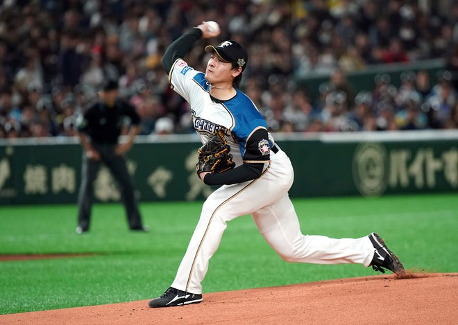 Former Nippon Ham Fighters starter Kohei Arihara signed a $6.2 million, two-year contract with the Texas Rangers in December. The 28-year-old is set to become the eighth native of Japan to appear in a regular-season game for the Rangers.