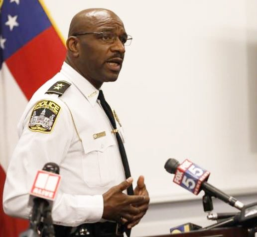 Athens-Clarke Police Chief Cleveland Spruill was among two finalists for a police chief's job in Maryland.