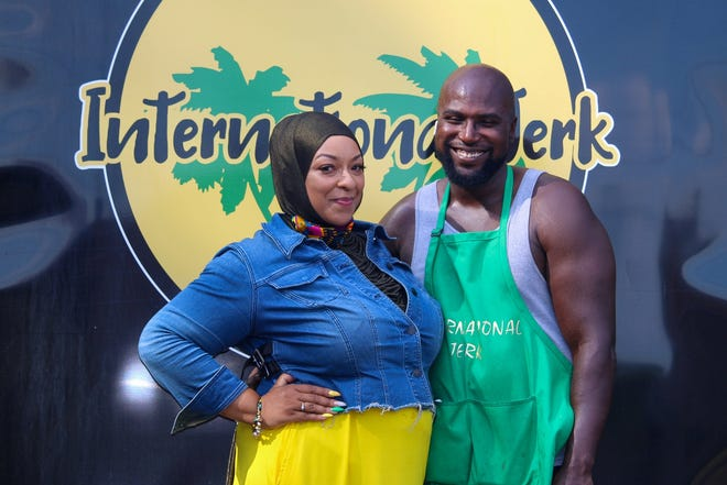 International Jerk was created in 2019 by owners Curtis and Chanell Humphrey, who will take over the kitchen at Akron's NoHi Pop-Up restaurant this week. (Photo courtesy of Charlee Harris)
