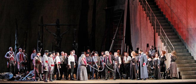 """Verdi's """"Il Trovatore"""" to air on Saturday, February 27."""