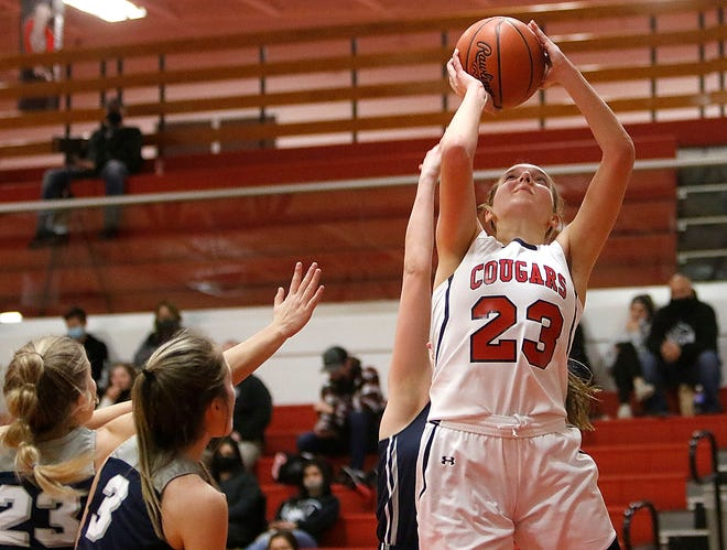 Crestview senior Kenedi Goon was named the Firelands Conference girls basketball player of the year for the 2020-21 season.