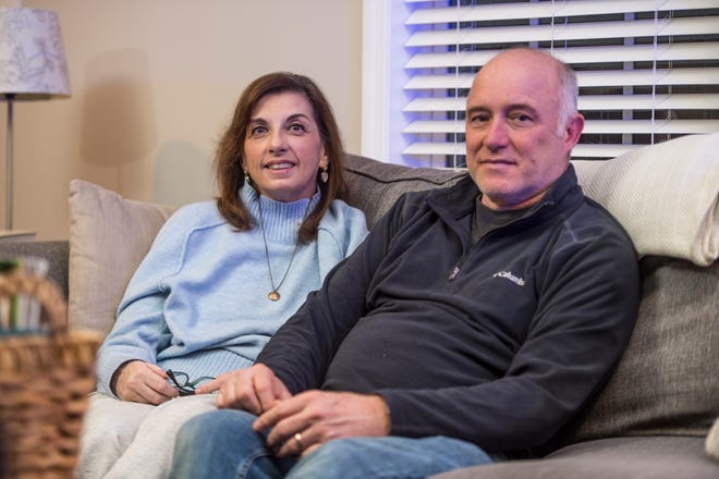 Harriet Kay and her husband, Franky Rachels, are staying with friends in Augusta while she recovers from a December car wreck.