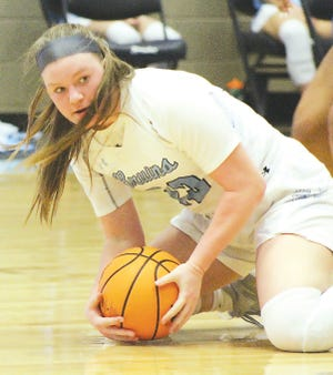 Alli Wood is one of the senior stalwarts for the Bartlesville High School girls basketball team, which is scheduled for its regular season finale Monday evening