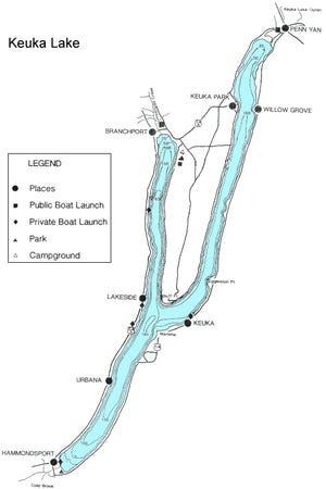 Keuka Lake.