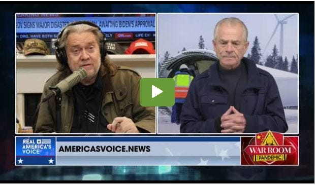 """Former Donald Trump strategist Steve Bannon sayson his """"warroom"""" show that Jane Timken represents """"pure MAGA"""" running for the U.S. Senate seat in Ohio. Former White House trade advisor Peter Navarro praised her as """"one of the toughest people I know."""""""