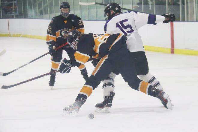 Gavin Anderson was a senior captain for the Crookston boys' hockey team this season.
