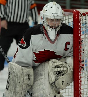 Devils Lake fell to Grand Forks, 5-0, on Feb. 8 at Burdick Arena.