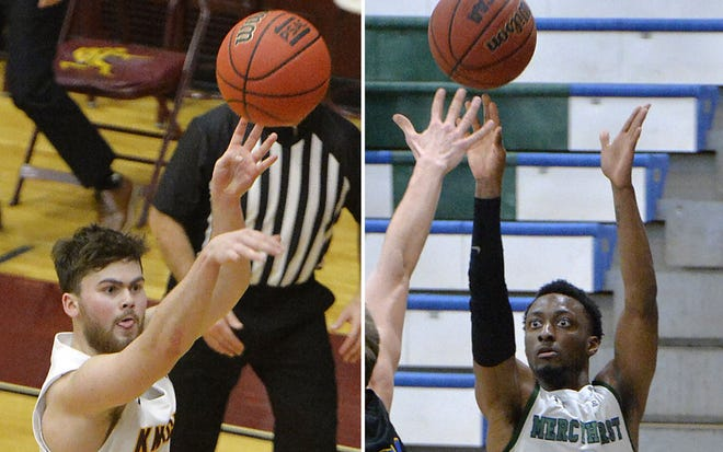 Gannon's Chris Clancy, left, and Mercyhurst's MiyKah McIntosh lead their teams into Saturday's showdown between the two unbeaten teams.