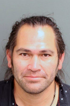 This photo provided by the Orange County, Fla. Corrections Department shows Johnny Damon. The former Major League Baseball player was arrested Friday in central Florida on a charge of resisting an officer after he was pulled over for suspicion of driving under the influence, according to court and jail records.